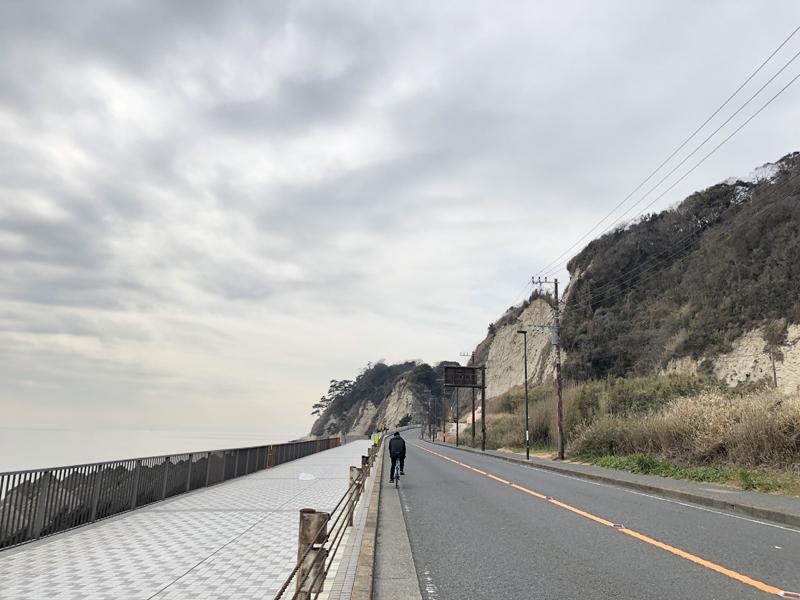 鎌倉から江ノ島への道