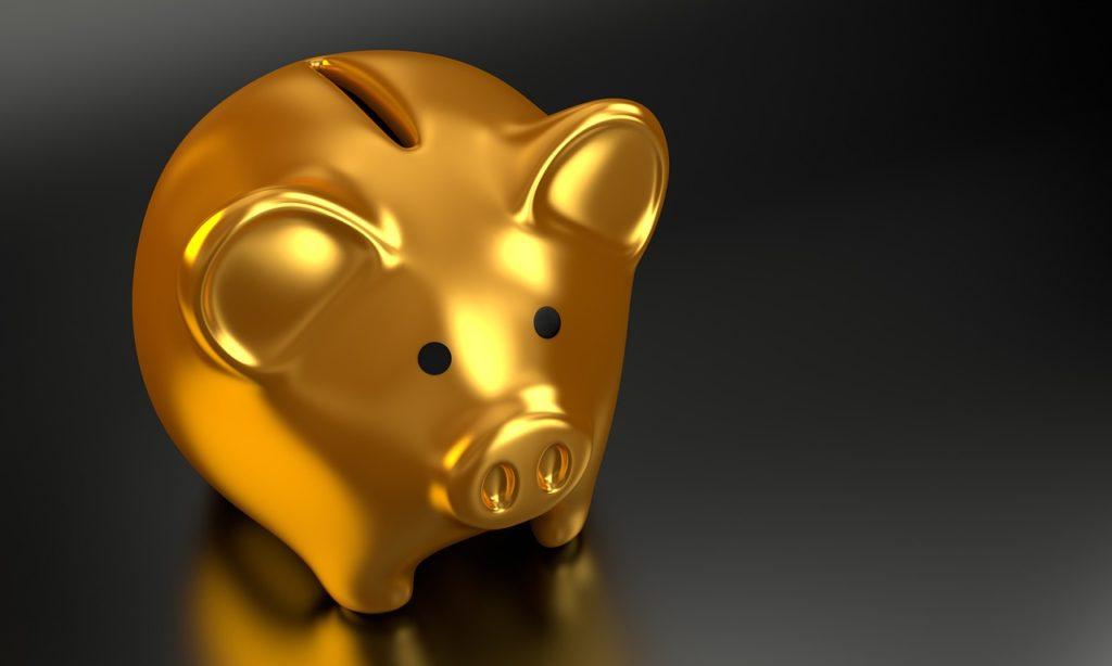 補助金制度 ブタ貯金箱