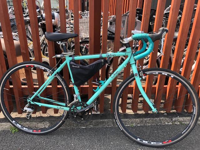 自転車部ロードバイク