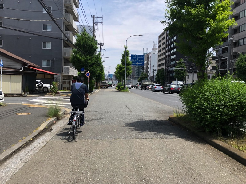 自転車部横浜に到着
