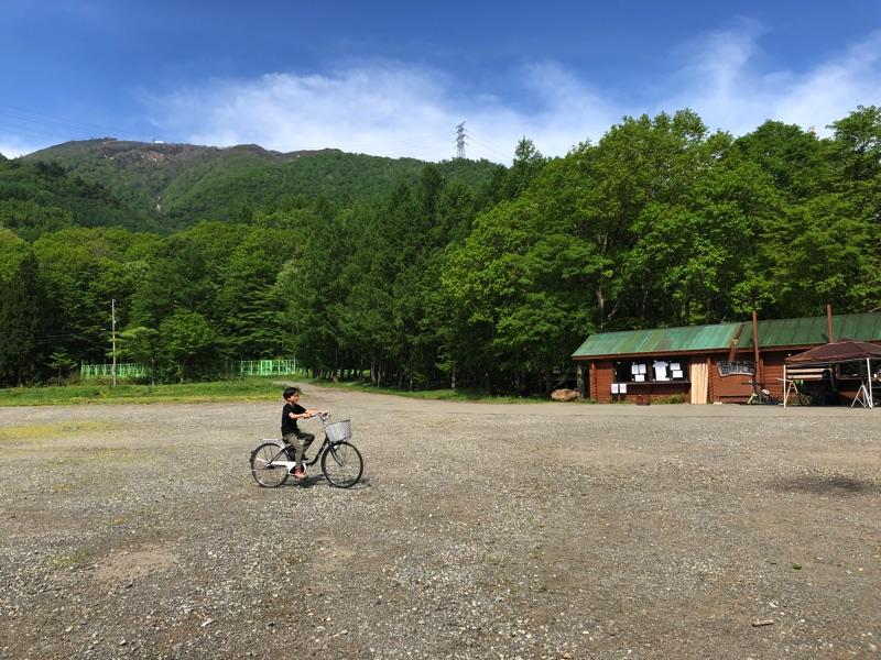 onwa子供と自転車