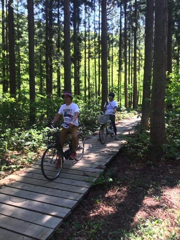 onwa自転車ボードウォーク