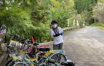 音和フェスティバルに電動自転車を提供